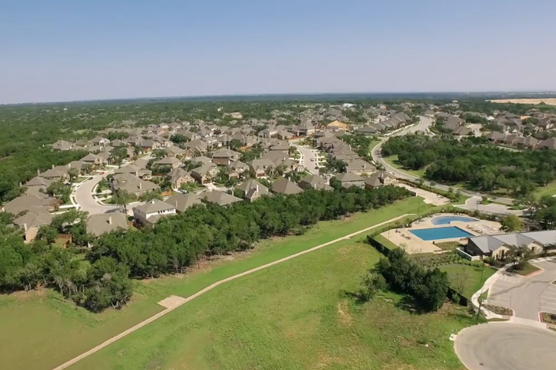 Highlands at Mayfield Ranch Aerial