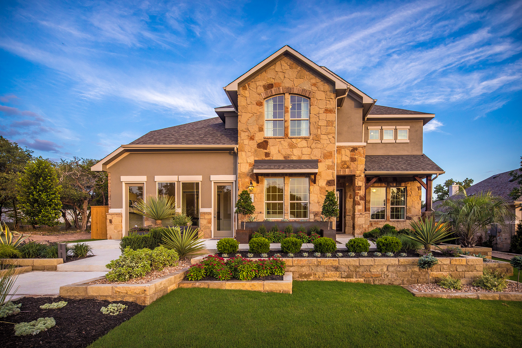 Highlands at Mayfield Ranch Model Home