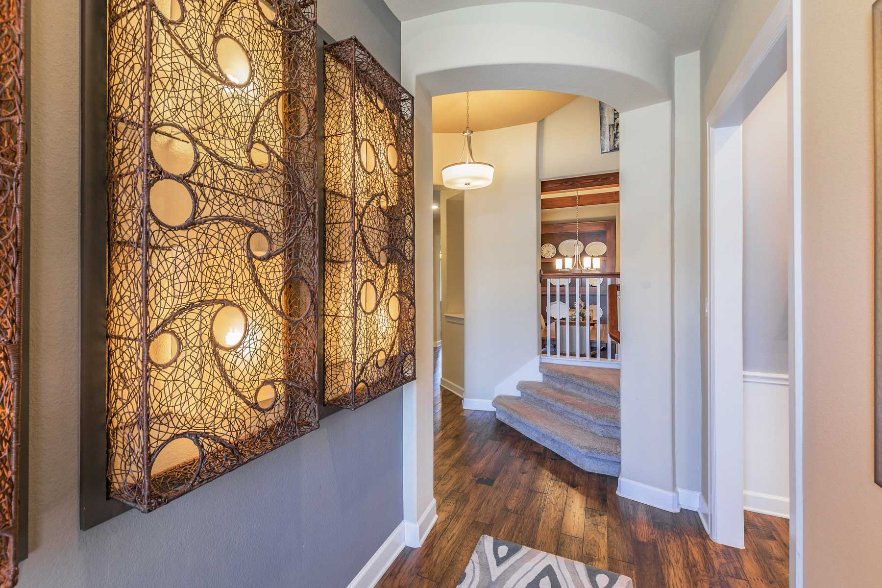 Foyer Door Zoo : New home in georgetown the clarendon m i homes