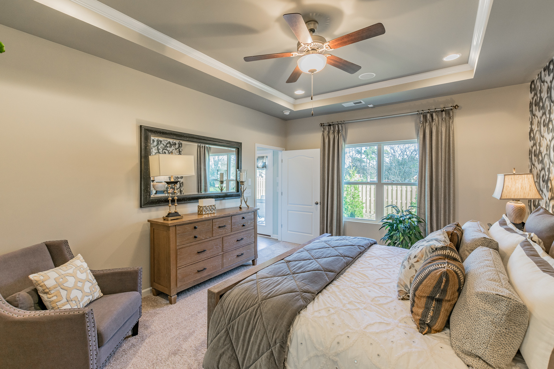 Heritage Neel Ranch Master Bedroom