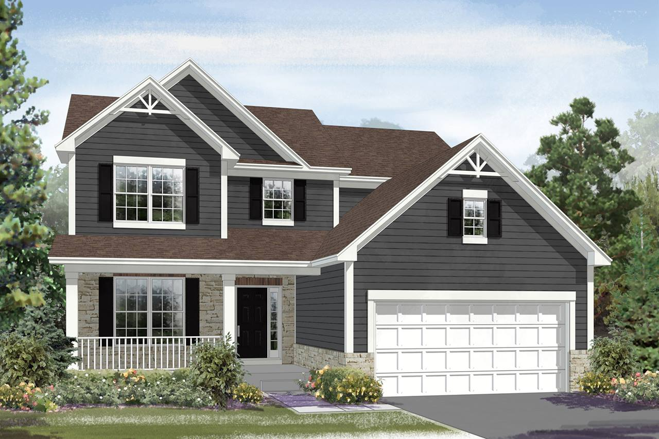 New Homes In Lockport The Baldwin Plan M I Homes