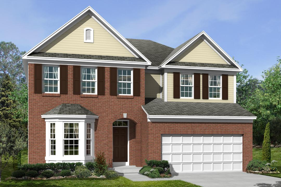 New homes in mason the cooke plan m i homes for House plans for golf course lots