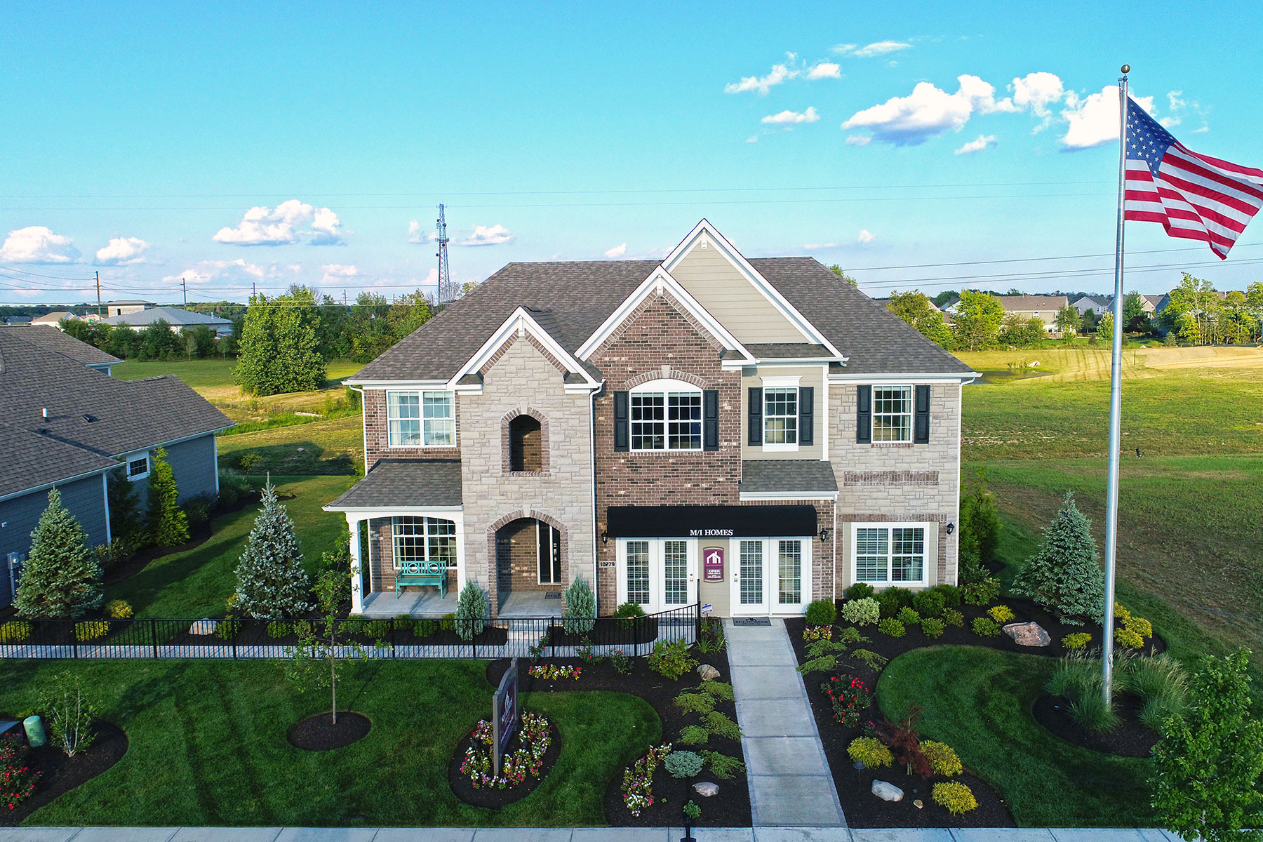 the reserve at steeplechase homes for sale in fishers in m i homes