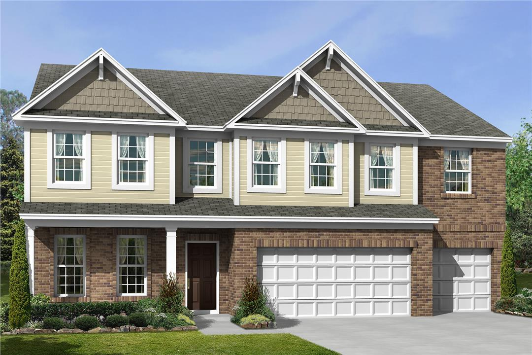 New homes in westfield the nicholas slab plan m i homes for House plans for golf course lots