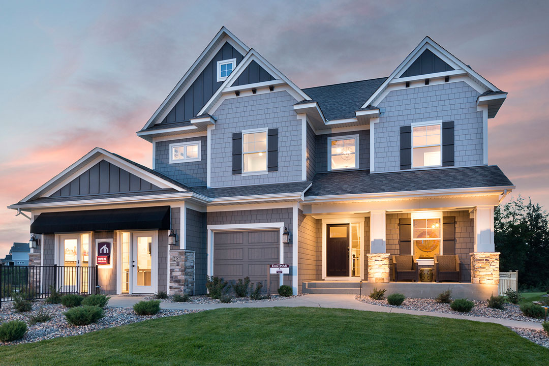 New Home In Hudson The Eastman M I Homes