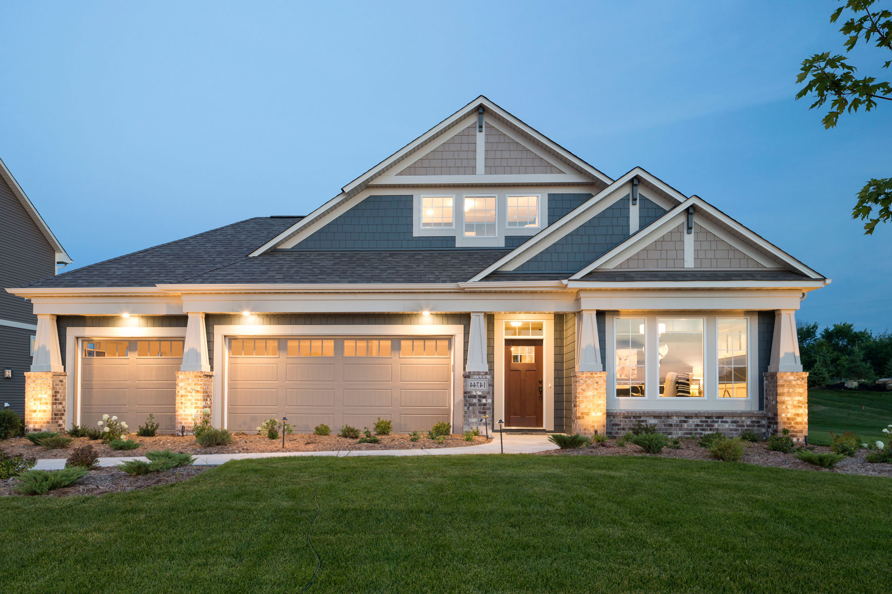 Haven ridge homes for sale in prior lake mn m i homes for Beach house designs south haven mi