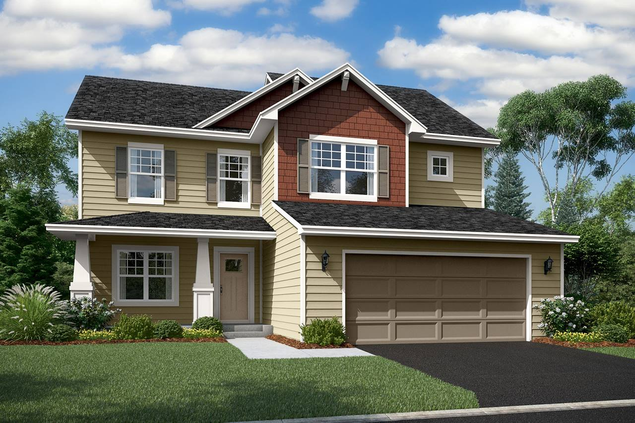 New homes in lakeville the dearborn plan m i homes for House plans for golf course lots